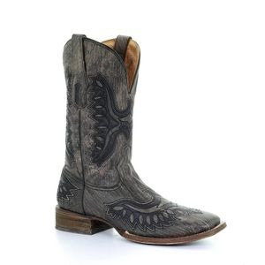 Men's Corral Shaded Eagle Boots